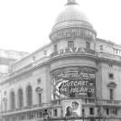 Photo:Plaza Cinema,  17 Lower Regent Street, screening Outcast of the Islands in February 1952