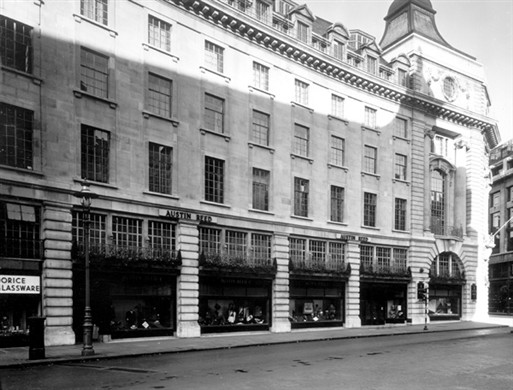 Regent Street In 1952 High Street History Topics Westminster Memories
