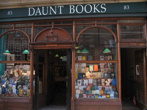 Photo:Daunt Books, 83 Marylebone High Street in 2010. Photograph by Adrian Autton
