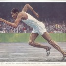 Photo:Image of Arthur Wint of Jamaica winner of 400m at 1948 London Olympics from Official Report